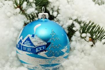 Christmas decoration, balls