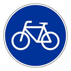 Sonderweg für Radfahrer