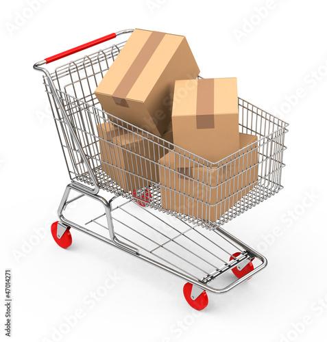 Der Einkaufswagen