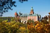 Fototapeta Ksiaz castle in Poland
