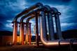 geothermal energy pipeline - 47014812