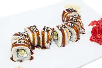 Суши с угрем от шеф- повара