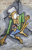 Scared graffiti - 47015888