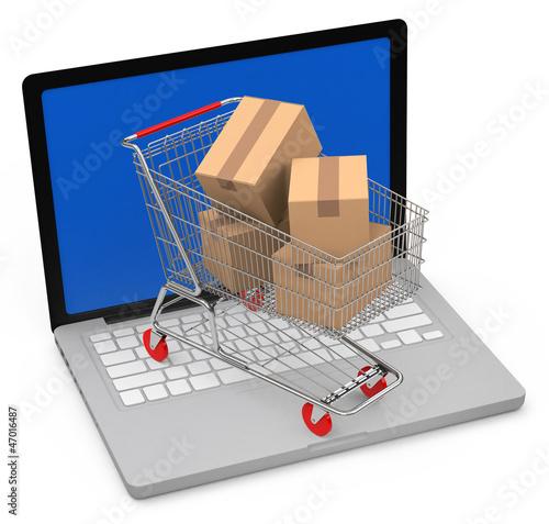 Der Online Einkauf