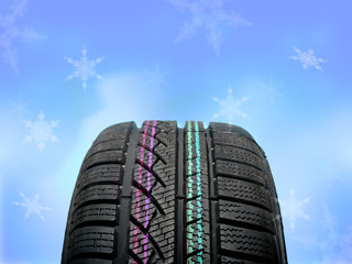 Brand new winter tire