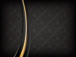 Black Luxury Background.