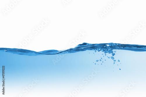 Leinwandbild Motiv water splash