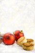 Christmas balls with sweet