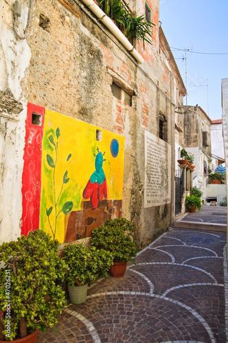 Alleyway. Diamante. Calabria. Italy. - 47026231