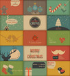 Collection Of Retro Holidays C...