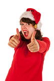 Thumbs up for Christmas
