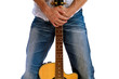 Go Folk - Guitar front embrace Horizontal