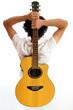 Go Folk - Guitar on his back