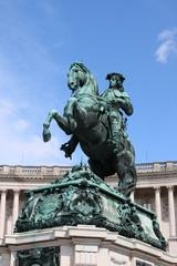 Prince Eugene statue in Vienna, Austria