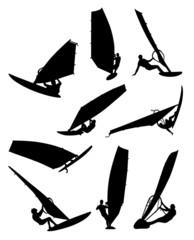 nine surfers