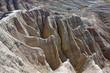 Felsen in den Badlands