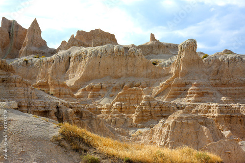 Felslandschaft in den Badlands