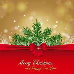 Merry Chistmas Card - Background