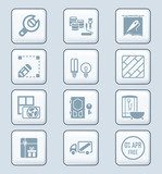 Home repair icons | TECH series
