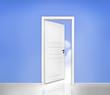 Tür ins Blaue