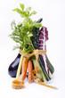 verdure fresche con metro