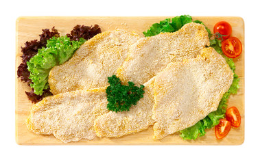 Cotolette di pollo - Chicken cutlets