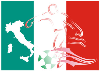 Fußball WM - 2014 - in Brasilien mit Italien