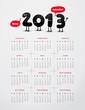 Funny year 2013 calendar
