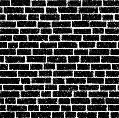 Ancient brick wall vector background