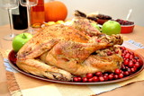 Thanksgiving Turkey with Cranberry and Apple Dressing