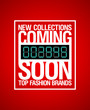 New collections, coming soon design template