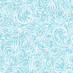 Seamless frosty pattern