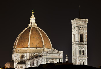 Dome and Campanile (Florence,Italy)