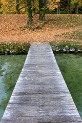 pier on Lac d'annecy