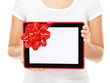Tablet computer screen gift