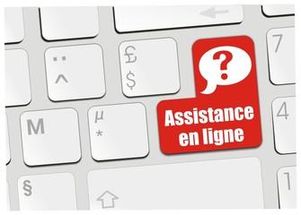 clavier assistance en ligne