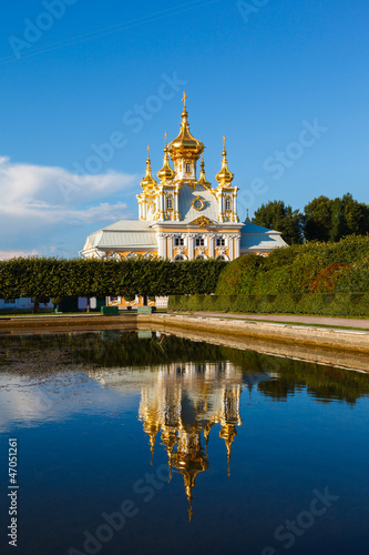 Palace church of Saints Peter and Paul in Peterhof