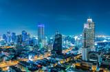 Fototapeta pejzaż - niebo - Widok Miejski