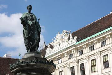 Hofburg Palace courtyard, Hofburg in Vienna, Austria