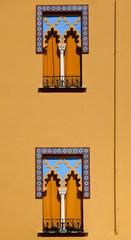Windows in Arabian style at Cordoba Spain