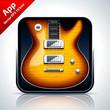 Guitar musical app icon