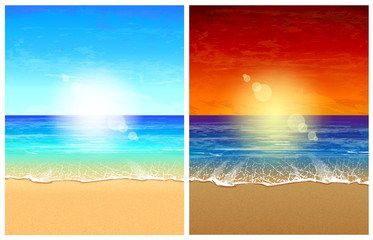 Seascape backgrounds