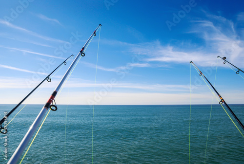 fishing on deep ocean