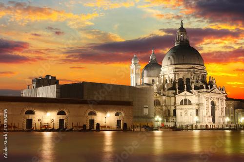 The Basilica di Santa Maria della Salute - Venice