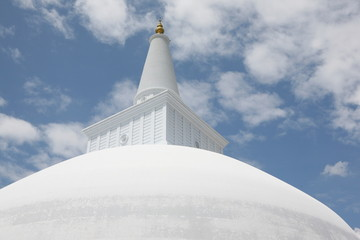 Kuppel der Ruwanweli Dagoba - Sri Lanka