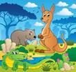 Australian animals theme 1
