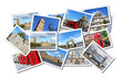 Leinwanddruck Bild - London postcards
