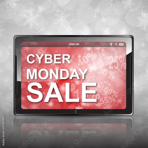 Cyber Monday Concept