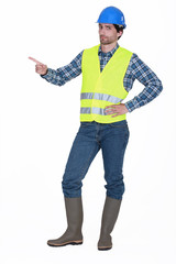 Builder pointing