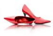 Damenschuhe in Rot